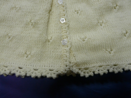 編み物 ベビードレスセット 3