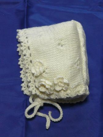 編み物 ベビードレスセット 5