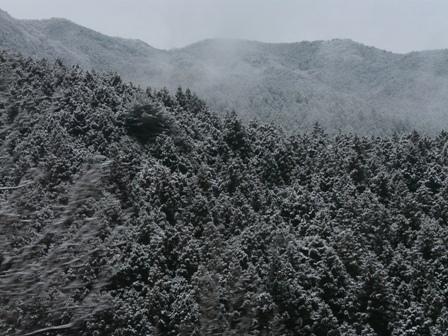 雪景色 三坂道路にて 1