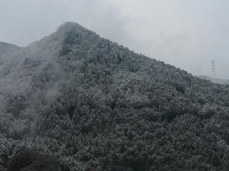 雪景色 三坂道路にて 2