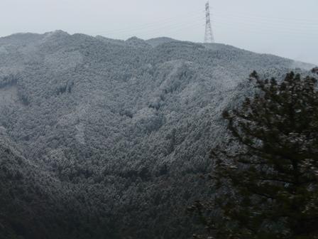 雪景色 三坂道路にて 3