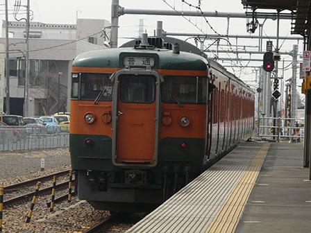 JR佐野駅 115系電車 1