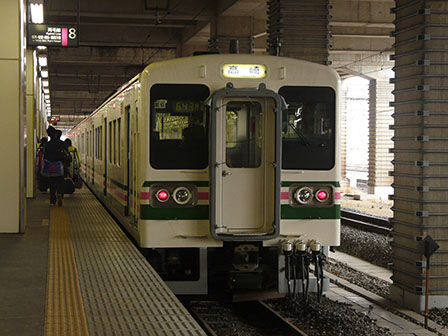 JR栃木駅 107系電車