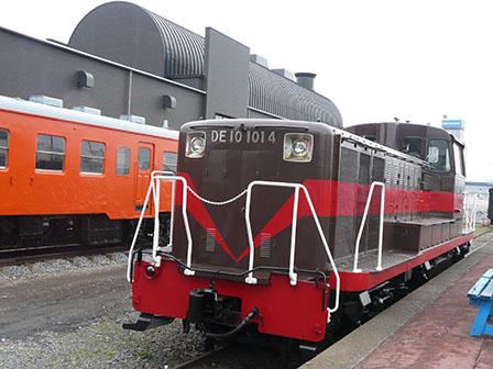 真岡鐵道・真岡駅 DE10形ディーゼル機関車