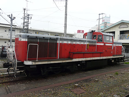 真岡鐵道・下館駅 DE10形ディーゼル機関車