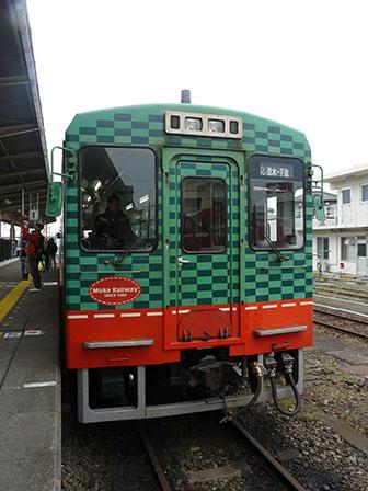 真岡鐵道・下館駅 モオカ14形気動車 2