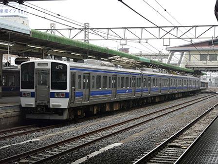 JR小山駅 415系電車
