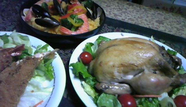 クリスマスなんちゃって料理2012
