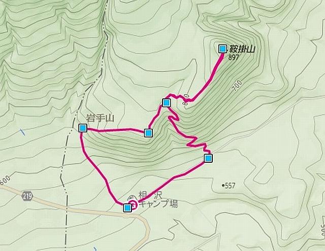 141013鞍掛山コース