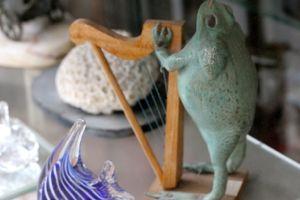 カエルの竪琴