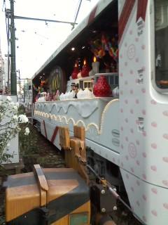 撮った花電車