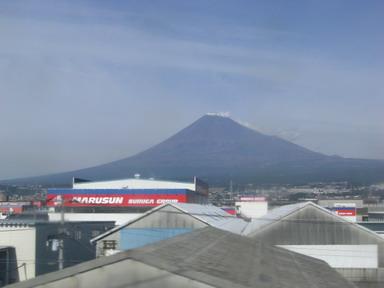 富士山、11月2日