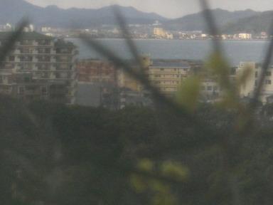 窓から海・・