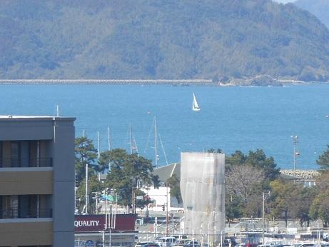 博多湾ひとりぼっち。