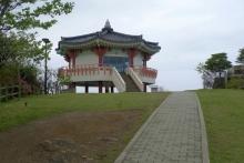 ばんちゃんの旅案内 -日本全国自走の旅--韓国を望む展望台