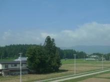 ばんちゃんの旅案内 -日本全国自走の旅--車窓の屋敷林