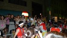 ばんちゃんの旅案内 -日本全国自走の旅--観客も大盛り上がり