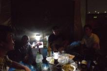 ばんちゃんの旅案内 -日本全国自走の旅--夜中の宴会