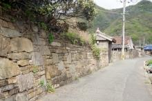 ばんちゃんの旅案内 -日本全国自走の旅--青海地区の石垣