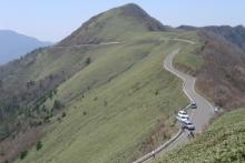 ばんちゃんの旅案内 -日本全国自走の旅--瓶ヶ森林道