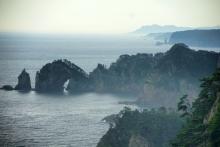 三陸の風景