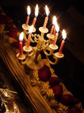 Cake&candle-2