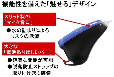リオネット新防水補聴器3
