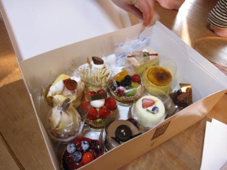 2日目ケーキ♪