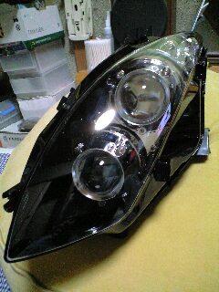 ダブルプロジェクタヘッドライト