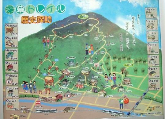 稲荷山桜 082