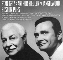 Stan Getz and Arthur Fiedler At Tanglewood Boston Pops