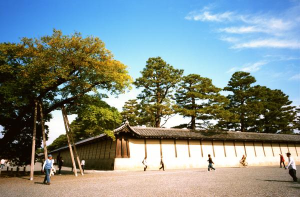 京都御所にて・・・