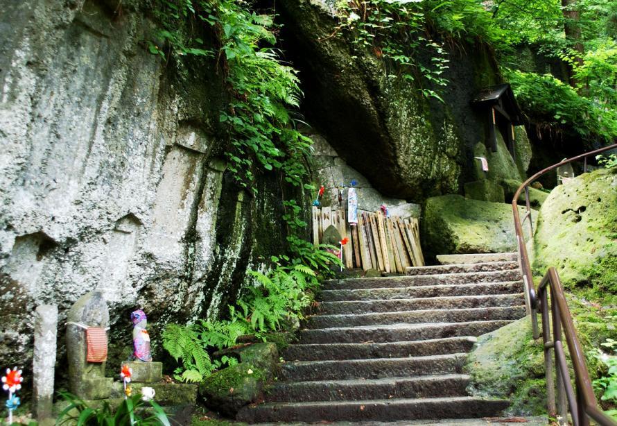 山形 山寺 (19)階段s