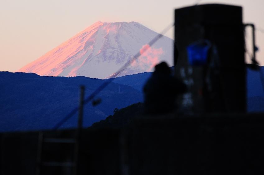 2013 01 19 川奈紅富士山sS*