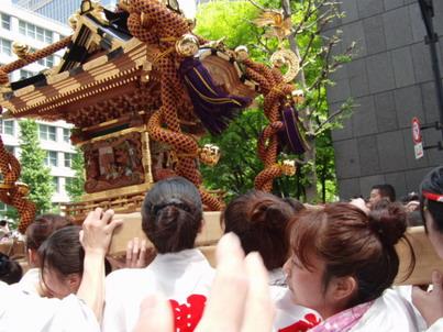 神田祭り・神輿2