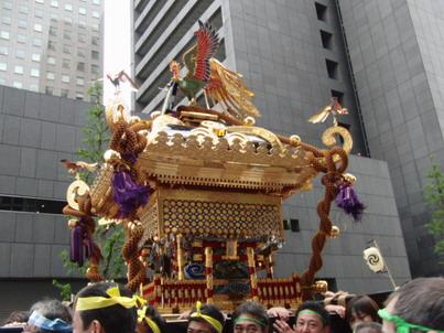 神田祭り・神輿1