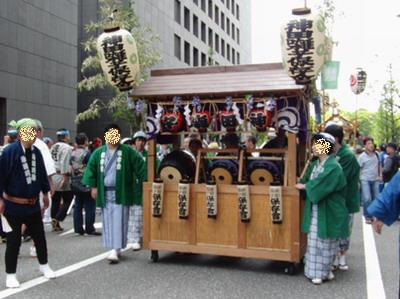 神田祭お囃子隊