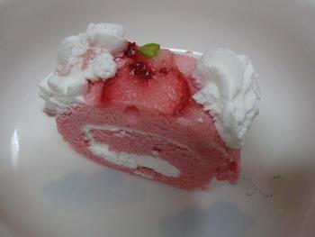苺ロールケーキ・小分け