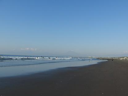 湘南・遠くに富士山
