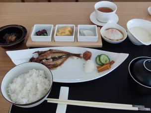 ホテル凛香、朝食