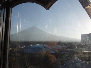 観覧車から富士山