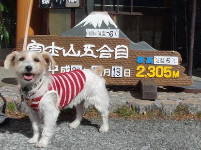 富士山5合目記念