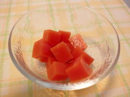 トマト寒天
