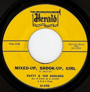 patty emblems mixed up shook up girl