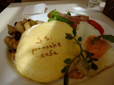 j.s pancake cafe@自由が丘