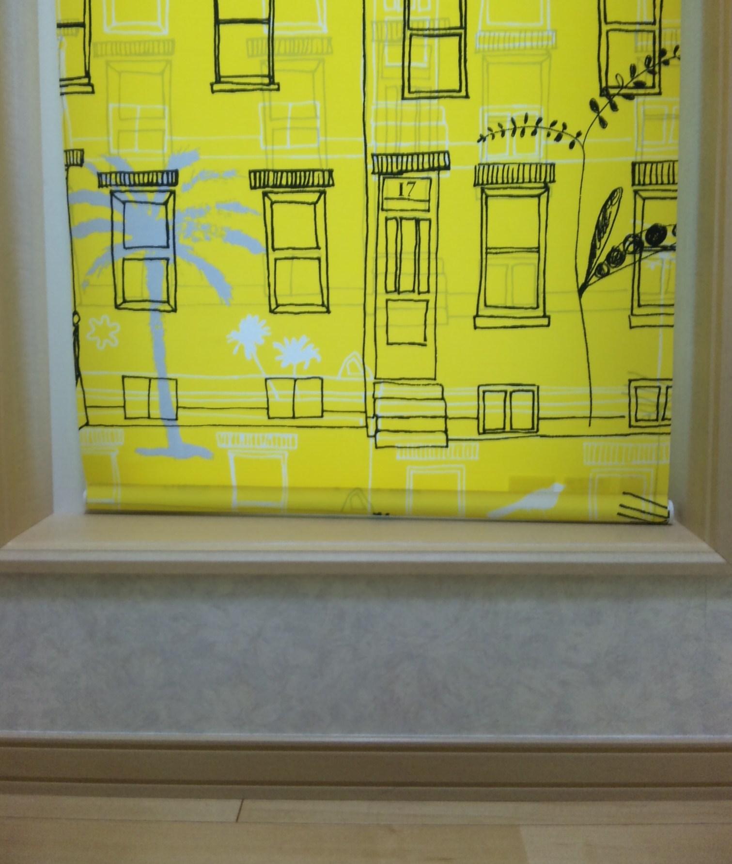 洗面所の窓枠