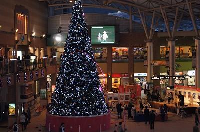 長崎駅クリスマスツリー