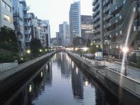 芝浦の運河