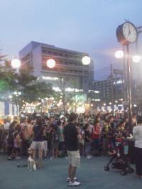 海岸地域の夏祭り