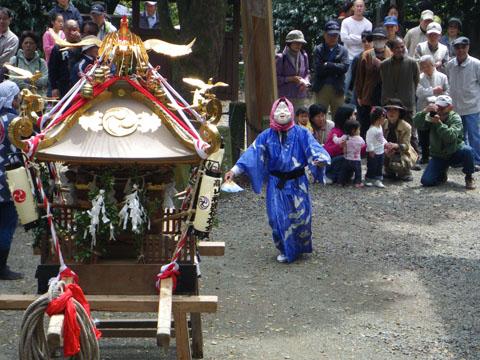 高来神社のお祭り